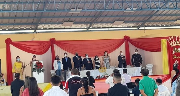CHACRAS CELEBRA SUS 137 AÑOS DE PARROQUIALIZACION.